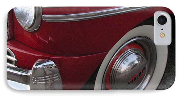 Classic Car Mercury Red 3 Phone Case by Anita Burgermeister