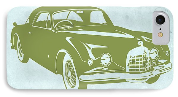 Classic Car IPhone Case by Naxart Studio