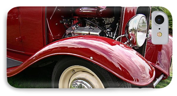 IPhone Case featuring the photograph Classic Ford by Nick Kloepping