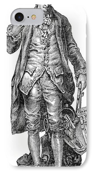 Claude De Jouffroy, French Engineer Phone Case by