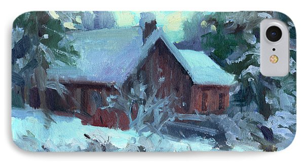 Cle Elum Cabin IPhone Case by Diane McClary