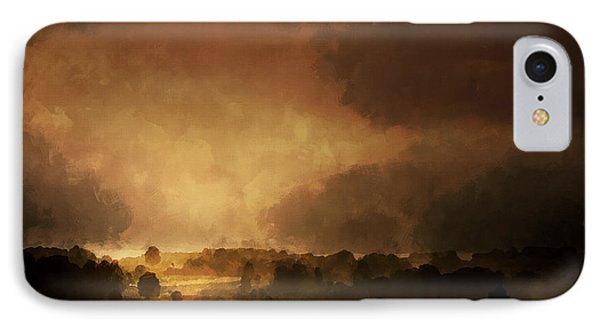 Clearing Storm Phone Case by Ron Jones