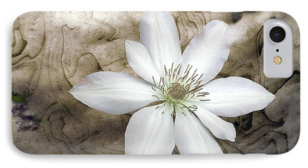 Clematis IPhone Case by Richard Ortolano