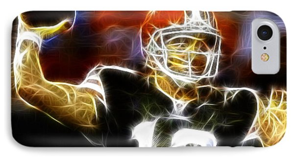 Cleveland Browns Colt Mccoy Phone Case by Paul Van Scott