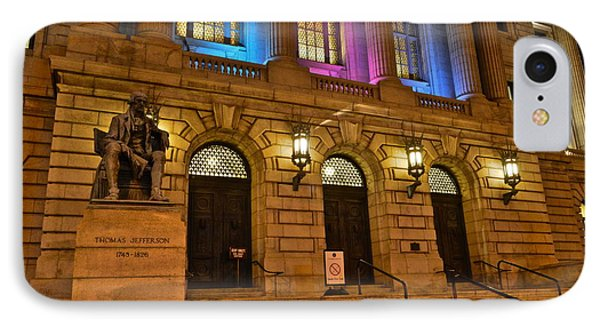 Cleveland Court House Phone Case by Frozen in Time Fine Art Photography