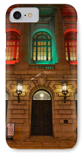Cleveland Courthouse Phone Case by Frozen in Time Fine Art Photography