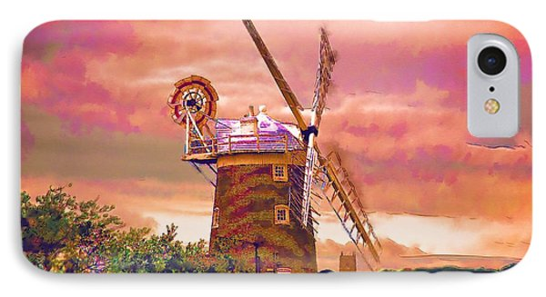Cley Windmill 2 Phone Case by Chris Thaxter