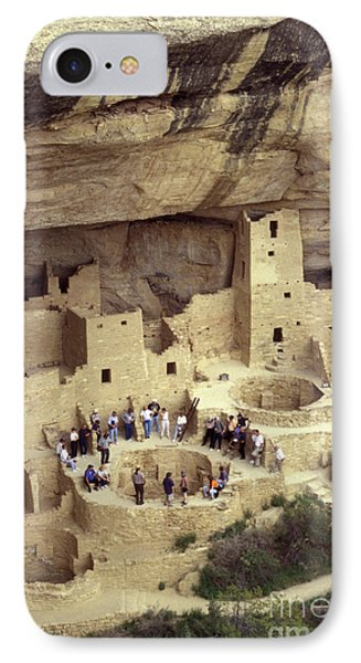 Cliff Palace Kiva Mesa Verde Phone Case by John  Mitchell