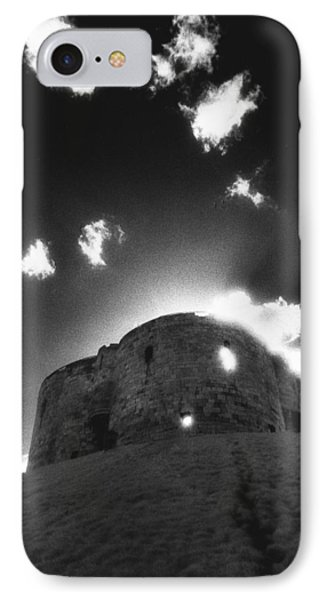 Cliffords Tower Phone Case by Simon Marsden