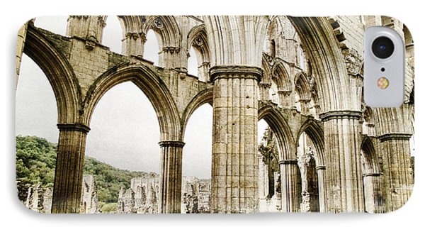 Cloisters Of Rievaulx Abbey Phone Case by Sarah Couzens
