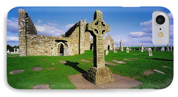 Clonmacnoise, Co Offaly, Ireland High IPhone Case