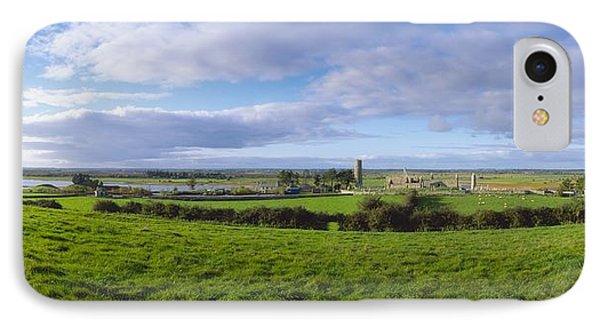 Clonmacnoise, Co Offaly, Ireland IPhone Case