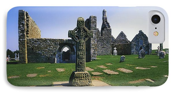 Clonmacnoise, Co Offaly, Ireland, West Phone Case by The Irish Image Collection