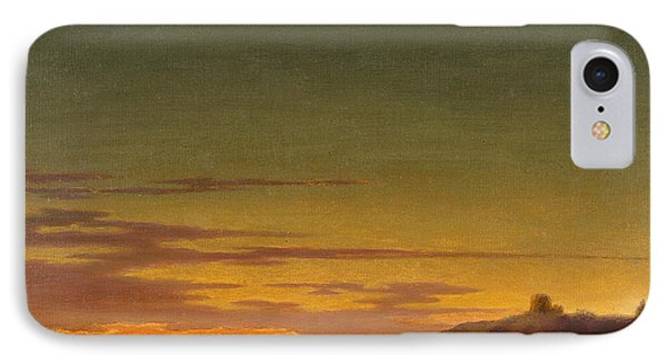 Close Of The Day - Sunset On The Coast IPhone Case