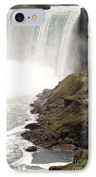 Close To The Falls Phone Case by Amanda Barcon