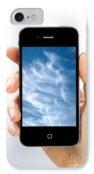 Cloud Computing Phone Case by Photo Researchers