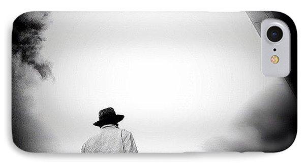 Cloud Cowboy - Concrete Jungle IPhone Case by Robbert Ter Weijden