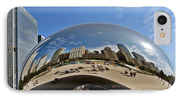 Cloud Gate - The Bean - Millennium Park Chicago Phone Case by Christine Till