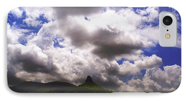 Clouded Hills At Nasik India Phone Case by Sumit Mehndiratta