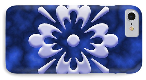 Clouds And Flower Phone Case by Tanya Moody