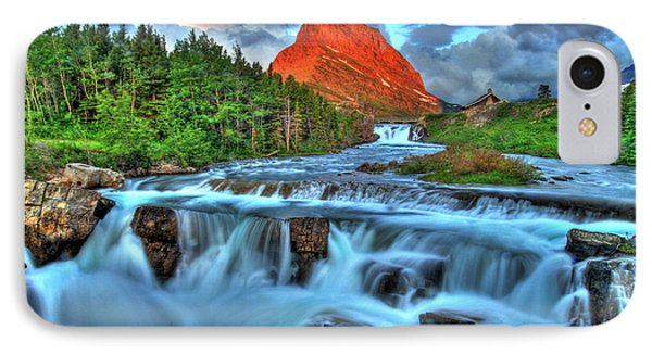 Clouds And Waterfalls Phone Case by Scott Mahon