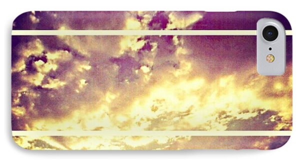 #clouds #bible #phonto #sky Phone Case by Kel Hill