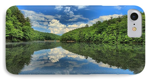 Clouds In The Lake Phone Case by Adam Jewell