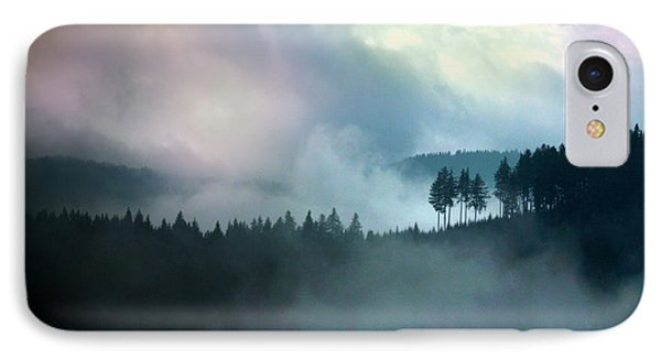 Clouds In The Mountain IPhone Case by Emanuel Tanjala