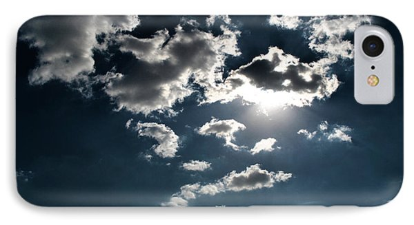 Clouds On A Sunny Day Phone Case by Sumit Mehndiratta