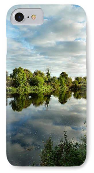 Clouds On The River IPhone Case