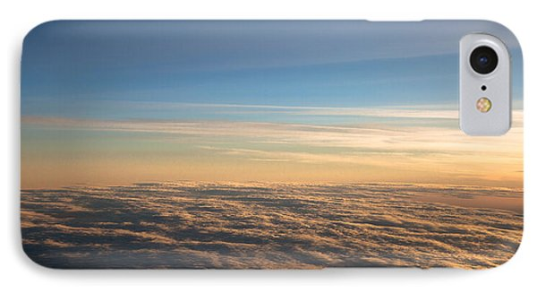 Cloudscape From A 757 Phone Case by David Patterson