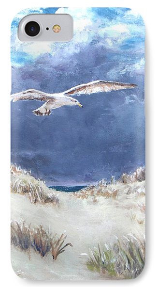 Cloudy With A Chance Of Seagulls Phone Case by Jack Skinner