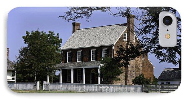 Clover Hill Tavern Appomattox Virginia Phone Case by Teresa Mucha