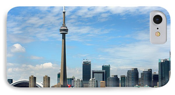 Cn Tower IPhone Case by Jeff Ross
