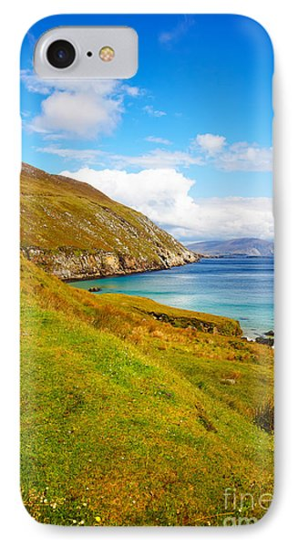 Coast At Keem Bay On Achill Island Phone Case by Gabriela Insuratelu