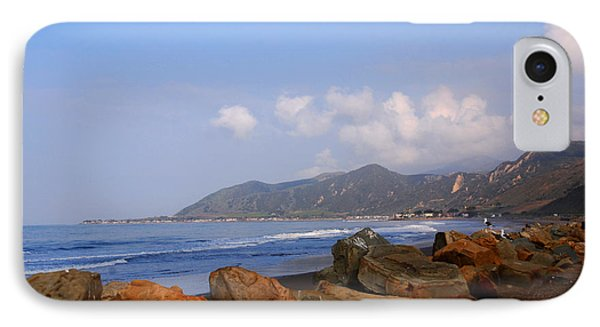 Coast Line California Phone Case by Susanne Van Hulst