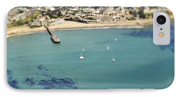Coastal Community And Sailboats IPhone Case by Eddy Joaquim