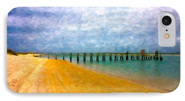 Coastal Dreamland Phone Case by Betsy Knapp