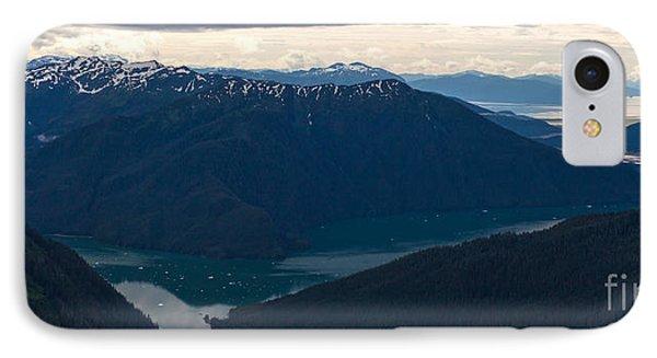 Coastal Range Fjords Phone Case by Mike Reid