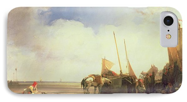 Coastal Scene In Picardy IPhone Case