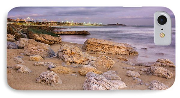 Coastline At Twilight Phone Case by Carlos Caetano