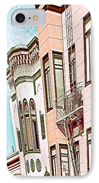 IPhone Case featuring the digital art Coat In The Window by Artist and Photographer Laura Wrede