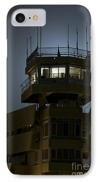 Cob Speicher Control Tower Phone Case by Terry Moore