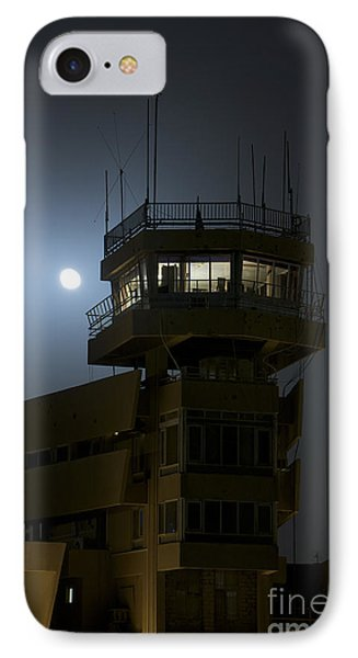 Cob Speicher Control Tower Under A Full Phone Case by Terry Moore