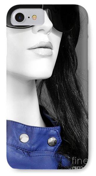 Cobalt Blues Phone Case by Sophie Vigneault