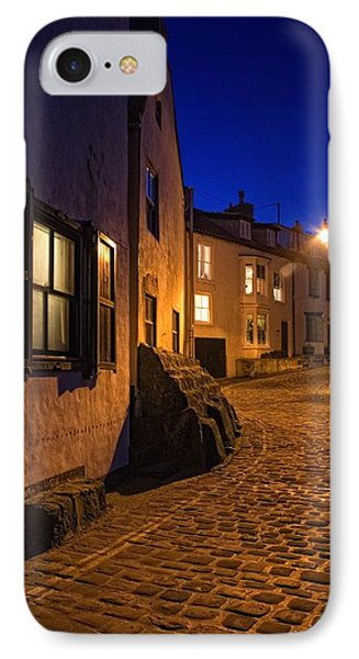 Cobblestone Road, North Yorkshire Phone Case by John Short