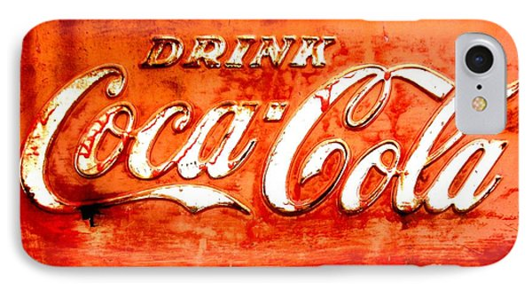 IPhone Case featuring the photograph Coca Cola by Amy Sorrell