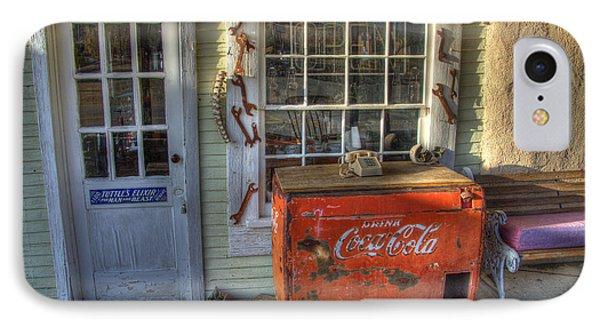 Coca Cola Cooler Randsburg Phone Case by Bob Christopher