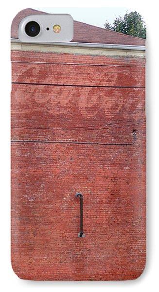 Coca Cola Faded Phone Case by Denise Keegan Frawley