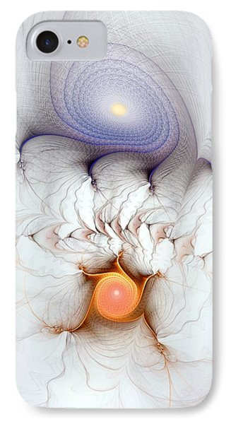 IPhone Case featuring the digital art Coexistence by Casey Kotas